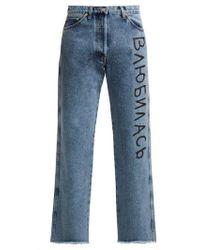 Natasha Zinko - Logo-print Jeans - Lyst