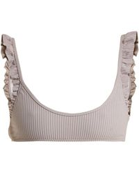 Made By Dawn - Petal Scoop Neck Bikini Top - Lyst