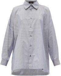 Eskandar - オーバーサイズ コットンシャツ - Lyst