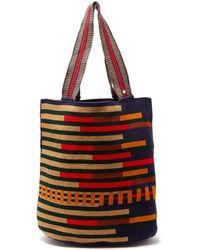 Guanabana Liam Stripe-woven Tote Bag - Multicolour