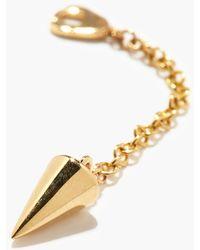 Maria Tash Spike 14kt Gold Pendulum Earring Charm - Metallic