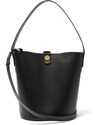 Sophie Hulme Swing Large Bucket Bag - Black