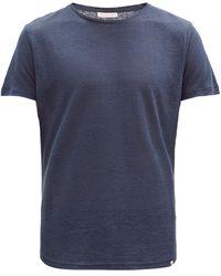 Orlebar Brown Ob-t リネンtシャツ - ブルー