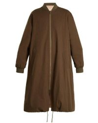 Army by Yves Salomon - Reversible Fur-lined Cotton Parka - Lyst