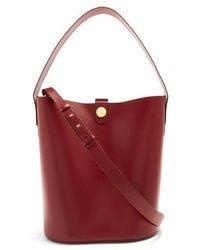 Sophie Hulme - Large Swing Leather Bucket Bag - Lyst