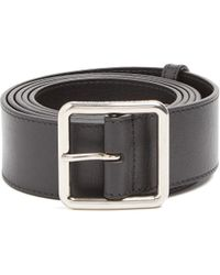 Alexander McQueen - Leather Belt - Lyst