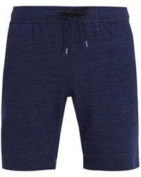 Onia - Saul Drawstring-waist Cotton-blend Shorts - Lyst