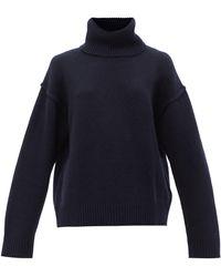 Allude - ウールカシミア タートルネックセーター - Lyst