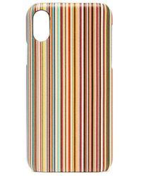 Paul Smith - シグネチャーストライプ Iphone X ケース - Lyst