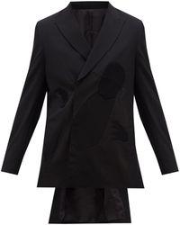 Undercover ノスフェラトゥ ウールジャケット - ブラック