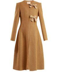 Brock Collection Charlotte Wool-blend Coat - Brown