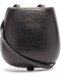 Lemaire タッコ レザーバッグ - ブラック