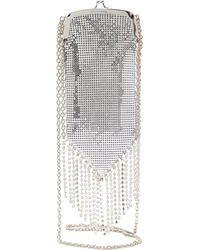 Paco Rabanne Fringed Chainmail-mesh And Crystal Cross-body Bag - Multicolour