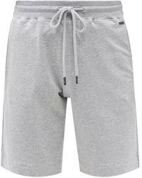 Hanro Leisure Drawstring Jersey Shorts - Grey