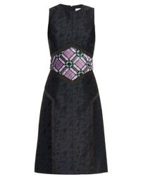 Mary Katrantzou - Cowie Sequin-embellished Jacquard Dress - Lyst