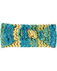 Missoni - Fish Scale Knitted Headband - Lyst