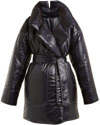 Norma Kamali Sleeping Bag Car Coat - Black