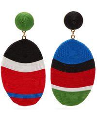 MaryJane Claverol - Gala Mismatched Drop Clip Earrings - Lyst