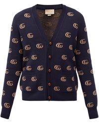 Gucci - GGマーモントジャカード ウールカーディガン - Lyst
