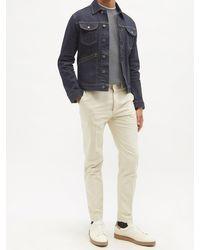 Brunello Cucinelli レイヤード コットンtシャツ - グレー