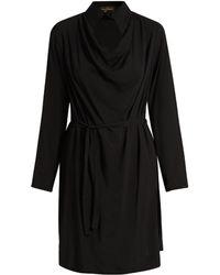 Vivienne Westwood Anglomania - Tondo Cowl Neck Draped Dress - Lyst