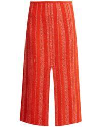Proenza Schouler | Textured-knit Midi Skirt | Lyst