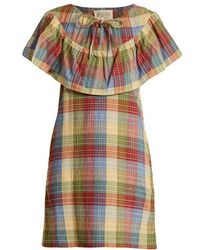 Ace & Jig - Clifton Checked Cotton-blend Dress - Lyst