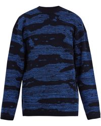 Raey - Oversized Space Dyed-wool Jumper - Lyst