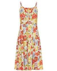 Emilia Wickstead - Juliet Floral-print Dress - Lyst