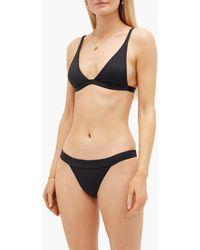 DOS GARDENIAS Lasso Low-rise Bikini Briefs - Black