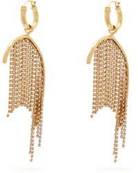 Ellery - Latham Crystal Strand Drop Earrings - Lyst