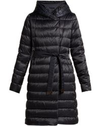 Max Mara Novef Reversible Coat - Blue