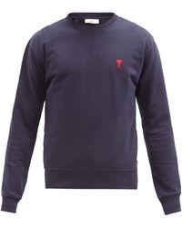 AMI - De Coeur コットンスウェットシャツ - Lyst