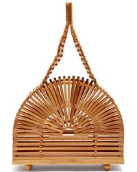 Cult Gaia - Cupola Dome Mini Bamboo Bag - Lyst