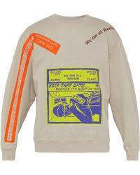Eckhaus Latta X Come Tees Cotton Sweatshirt - Multicolour
