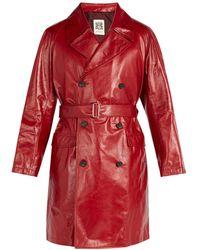 CONNOLLY - Trench-coat en cuir - Lyst