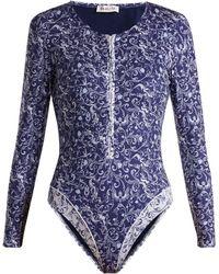 Paolita | La Sirena Rash-guard Swimsuit | Lyst