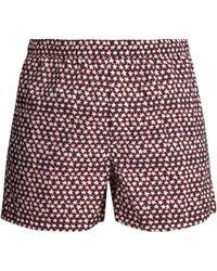 Valentino - Star-print Swim Shorts - Lyst