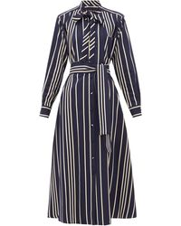 Weekend by Maxmara Party Shirtdress - Blue