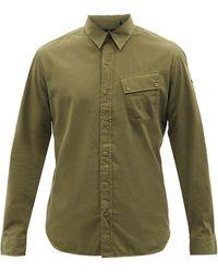 Belstaff ピッチ コットンツイルシャツ - グリーン