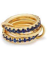 Spinelli Kilcollin - Juno 18kt Gold & Sapphire Ring - Lyst