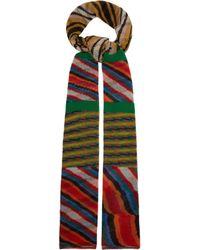 Missoni - Striped Cashmere Scarf - Lyst