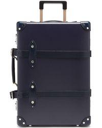"Globe-Trotter Centenary 20"" Cabin Suitcase - Blue"