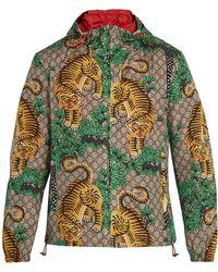 acd96c0f Bengal Tiger Print Jacket - Green
