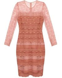 Burberry Prorsum - Tiered French-lace Dress - Lyst