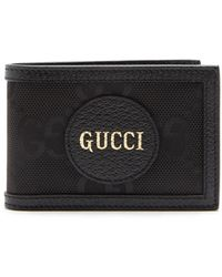 Gucci - Logo-patch Small Gg-canvas Wallet - Lyst