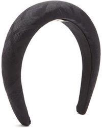 Fendi Ff-jacquard Silk-satin Headband - Multicolour