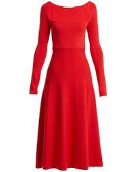 Brock Collection - Robe plissée en coton et soie Kimmie - Lyst