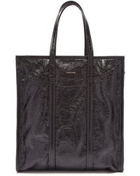Balenciaga - Bazar Shopper M Leather Bag - Lyst