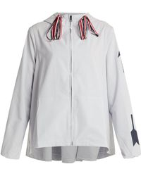 The Upside - Dupont Ash Hooded Performance Jacket - Lyst
